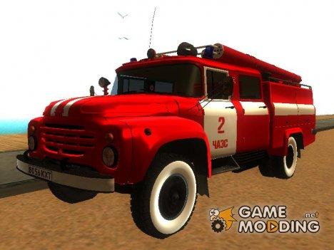 ЗиЛ - 130 АЦ-40 Предположительно команды Владимира Правика для GTA San Andreas