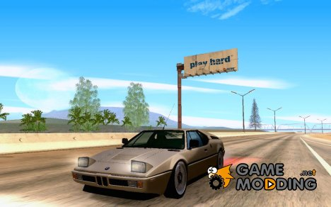 BMW M1 for GTA San Andreas