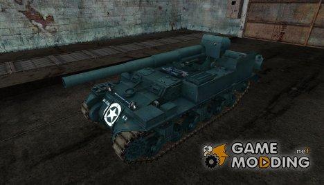 Шкурка для M12 for World of Tanks