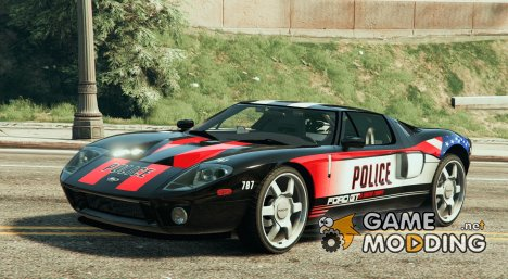 Ford GT Police Car for GTA 5