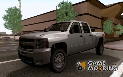 Chevrolet Silverado 2500HD Z71 2010 for GTA San Andreas