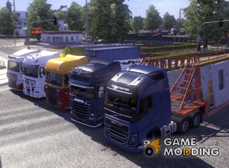 Improved company truck's 1.5 for Euro Truck Simulator 2