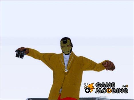 Маска Железного Человека for GTA San Andreas