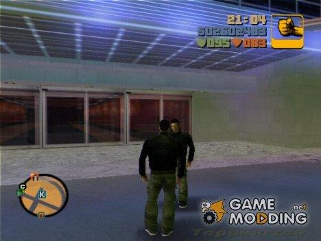 Двойник Клода для GTA 3