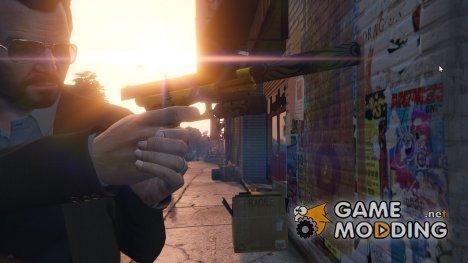 Glock 17 4.0 для GTA 5