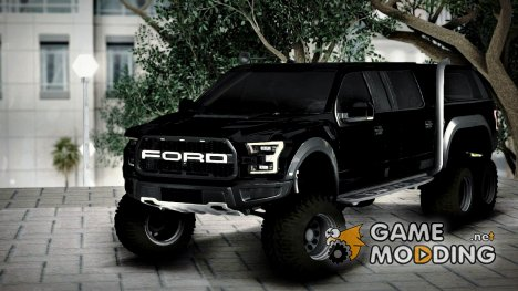 Ford F150 Raptor 6x6 Long для GTA San Andreas