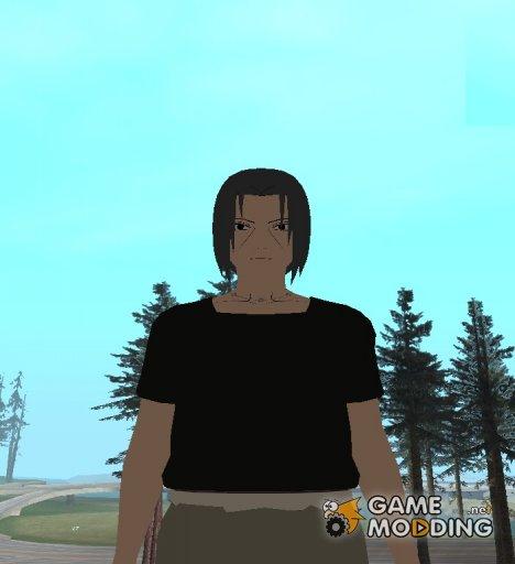 Итачи из Наруто HD (без плаща Акацке) для GTA San Andreas
