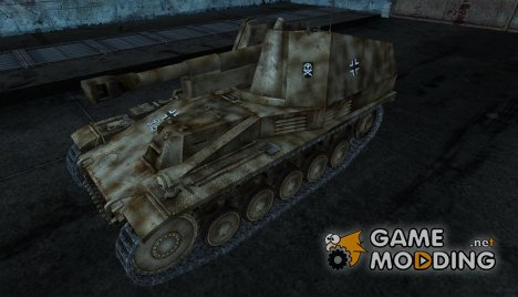 Wespe от Kirederf7 для World of Tanks