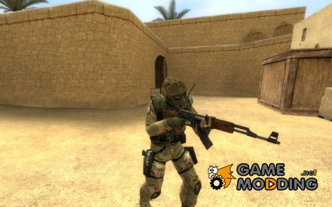 KFS' US Soldier SAS for Counter-Strike Source