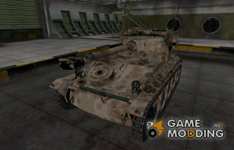 Французкий скин для AMX 12t для World of Tanks