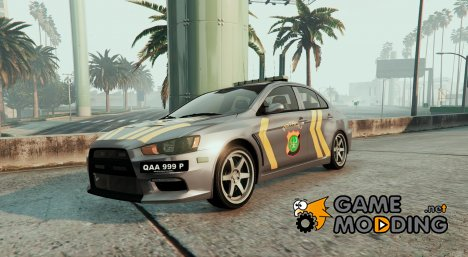 Mitsubitshi Patroli Indonesia Police Modification для GTA 5