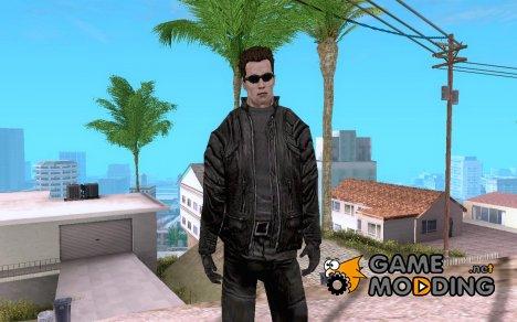 Terminator - Arnold Schwarzenegger for GTA San Andreas