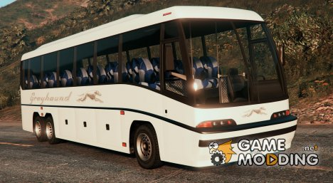 Coach bus with enterable interior v2 for GTA 5