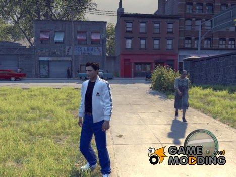 Белый костюм с синими джинсами для Mafia II