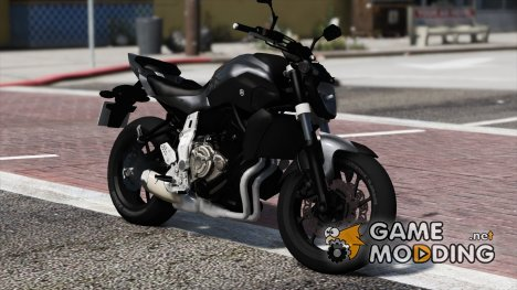Yamaha MT-07  v1.0 for GTA 5