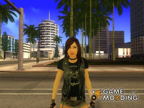 Bike Girl for GTA San Andreas