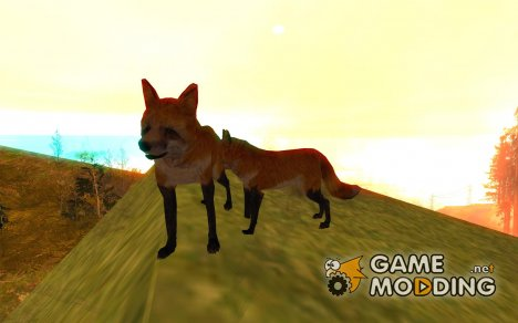 Wild Life Mod 0.1b Дикая Природа for GTA San Andreas