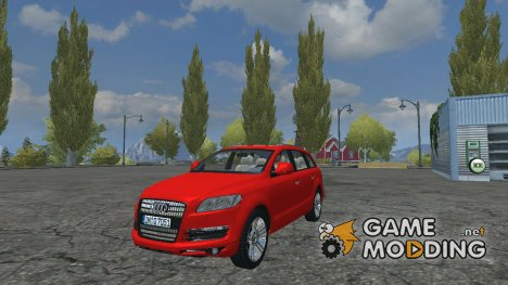 Audi Q7 Civil for Farming Simulator 2013