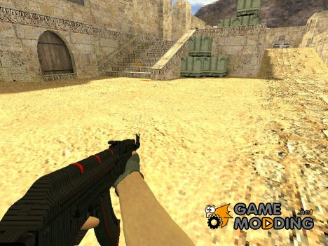 AK-47  RedLine для Counter-Strike 1.6