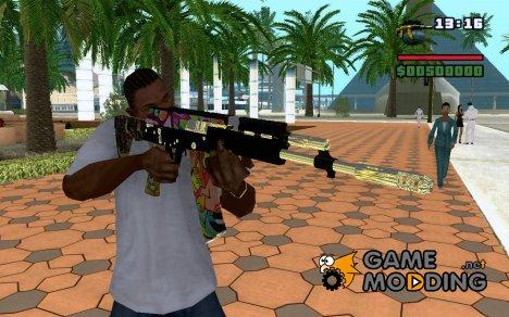 Замена старому m4 для GTA San Andreas