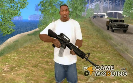 M16A4 for GTA San Andreas