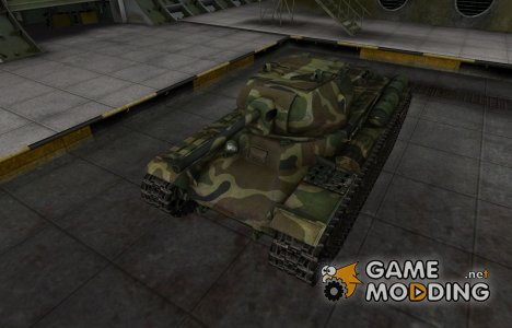 Скин для танка СССР КВ-13 for World of Tanks