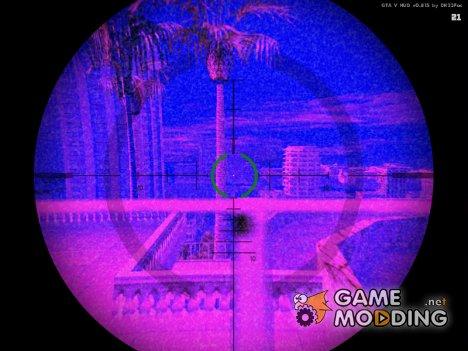 GTA 5 Rifle Night and Thermal Vision MOD для GTA San Andreas