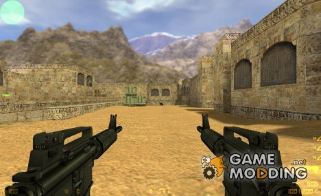 Dual M4A1's for Counter-Strike 1.6