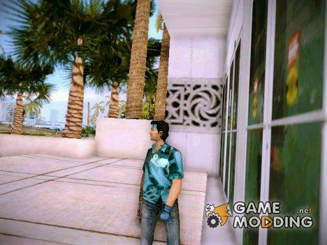"""Майка """"Metal Gear Solid 2"""" for GTA Vice City"""