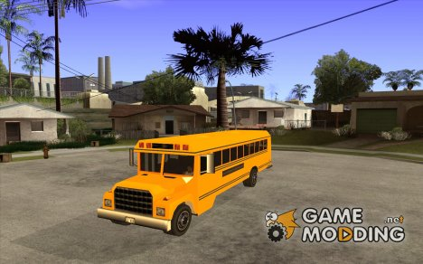 School bus for GTA San Andreas
