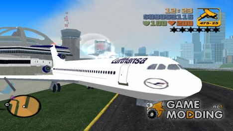 New textures airtrain for GTA 3