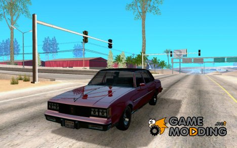 Oldsmobile Cutlass v2 1985 for GTA San Andreas