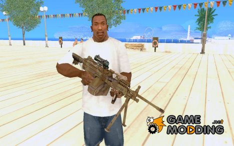 Medal Of Honor: Warfighter - MK48 for GTA San Andreas