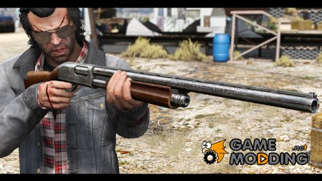 Remington 870e Shotgun для GTA 5