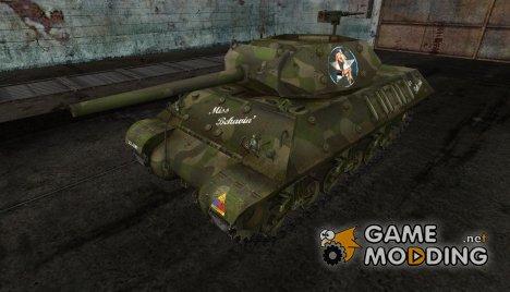 Шкурка для M10 Wolverine for World of Tanks