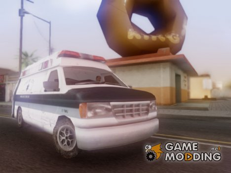 Carcer City Ambulance для GTA San Andreas