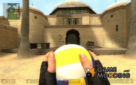volleyball grenade for Counter-Strike Source