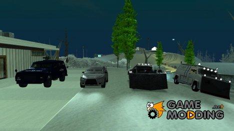 Машины для зомби апокалипсиса v4 для GTA San Andreas