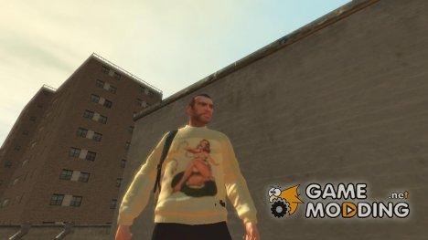 Свитер с певицей for GTA 4