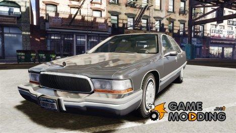 Buick Roadmaster Sedan 1996 v 2.0 для GTA 4