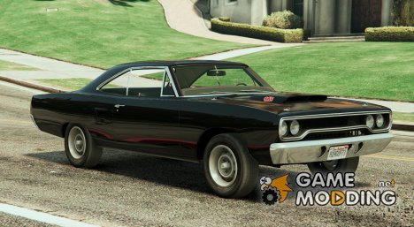 Plymouth Road Runner 1970 для GTA 5