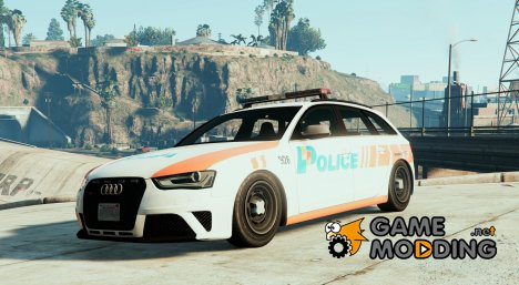 Audi RS4 Swiss - GE Police for GTA 5