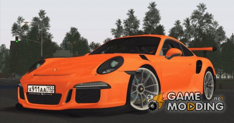 Porsche 911 GT3 RS 2015 for GTA San Andreas