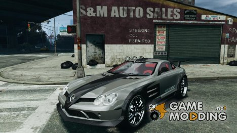 Mercedes-Benz SLR Volcano 2008 Hamann v1.0 for GTA 4