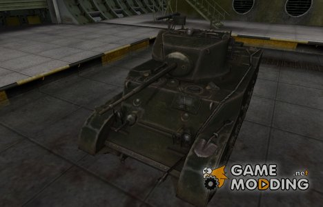 Шкурка для американского танка M5 Stuart для World of Tanks