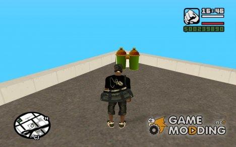 Пак необычного оружия for GTA San Andreas