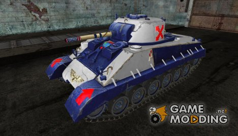 Шкурка для M4A2E4 (Вахраммер) for World of Tanks