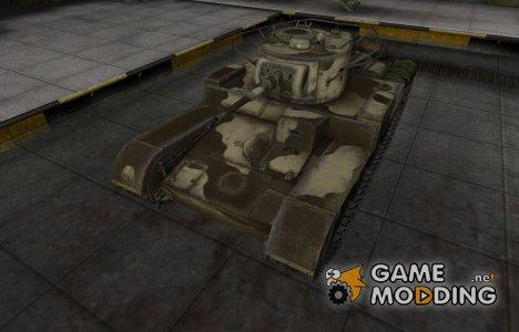 Пустынный скин для Т-46 for World of Tanks