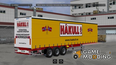 Narko Curtainsider v 1.1 for Euro Truck Simulator 2