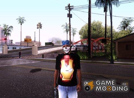 "T-shirt ""Iron Man"" для GTA San Andreas"